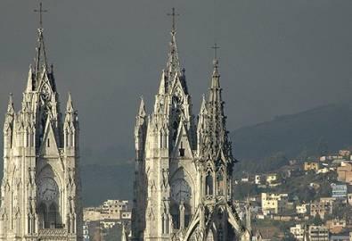 Ecuador Quito Basilika