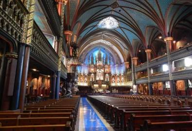 Kanada Montrael Notre Dame