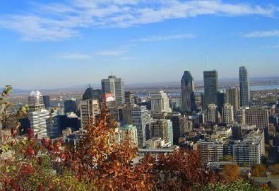 Kanada Montreal von oben