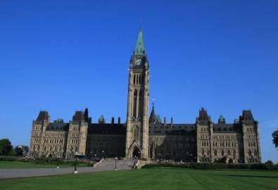 Kanada Ottawa Regierungsgebäude