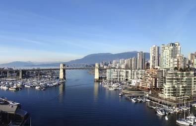 Kanada Vancouver Skyline