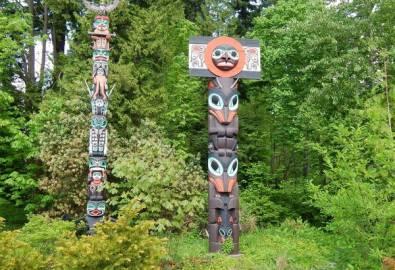 Kanada Vancouver Torempfähle