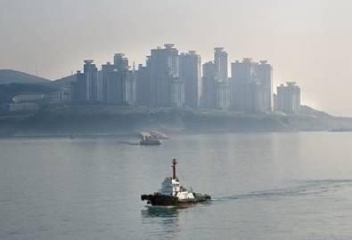 Korea Busan Harbour