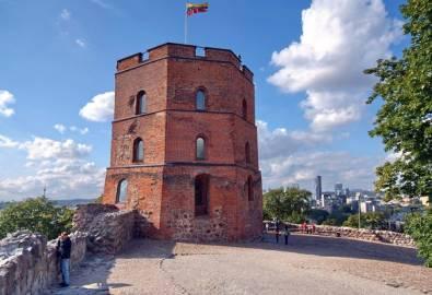 Litauen Trakai Gedeminas Turm