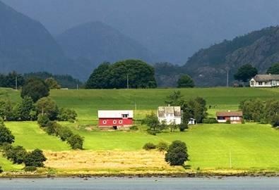 Norwegen Fjord Küste