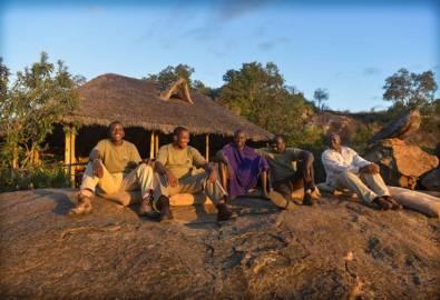 Tansania Abendstimmung im Tarangire