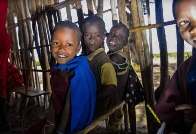Tansania Massai Kinder Schule