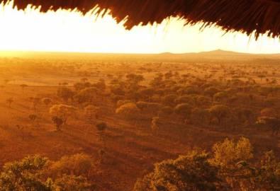 Tansania Regen und Sonne Serengeti