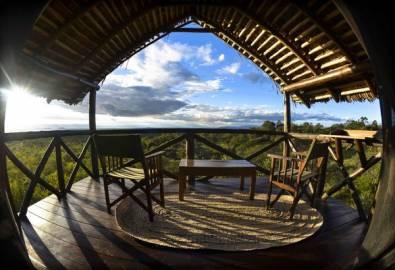 Tansania Tarangire Maweninga Camp Aussicht