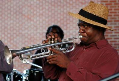 USA Memphis Straßenmusiker