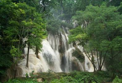 Laos - Luang Prabang Kuangsi waterfall