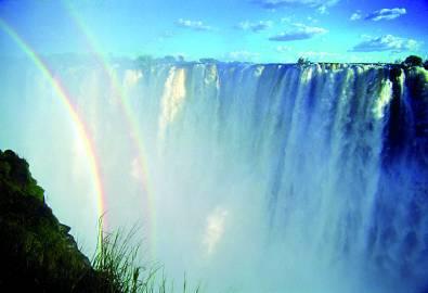 Namibia Victoria Wasserfälle
