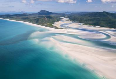 Whitehaven Beach, Whitsundays Islands, QLD