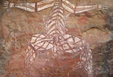 Kakadu Nationalpark - Felszeichnung