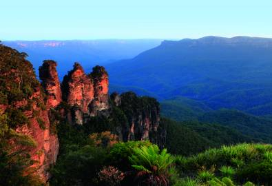 Australia New South Wales Katoomba Three Sisters