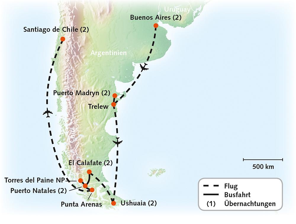 Argentinien/Chile - Patagonien pur