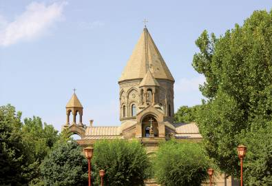 Echmiadzin Cathedral in Armenia