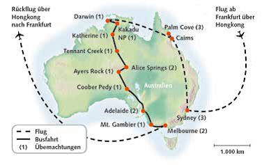 Australien, Australien Intensiv 2019-20