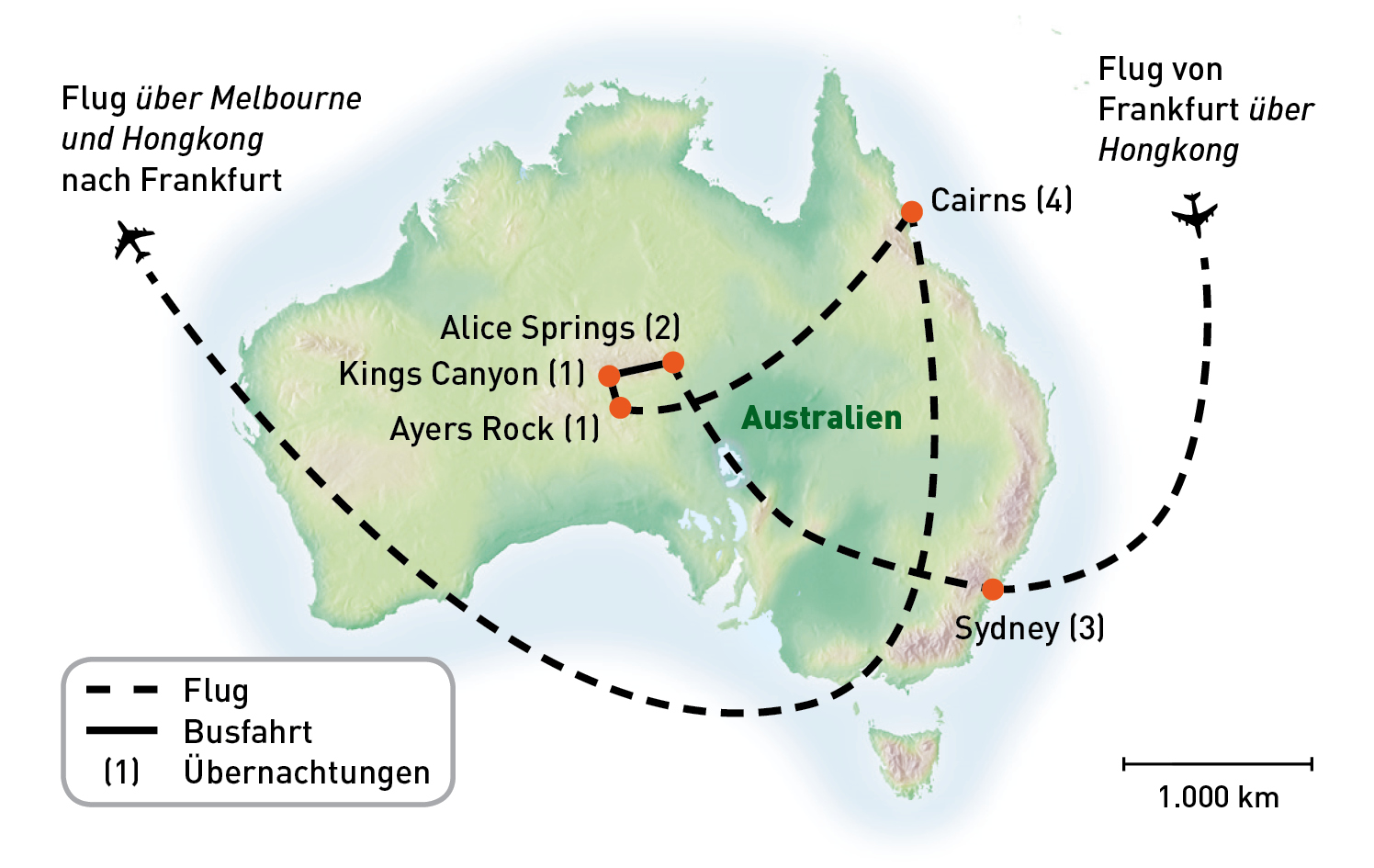 Routenkarte_Australien_Sydney Rock und Reef_KiKa2020_RGB