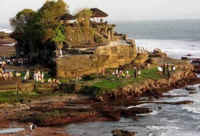 Bali Tempel des Meeres Pura Tanah Lot