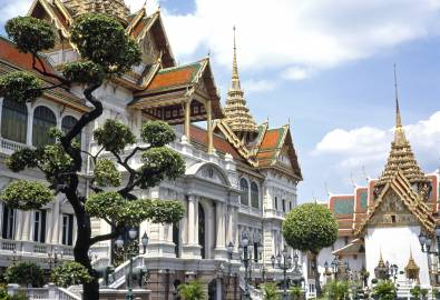 The Grand Palace, Bangkok, Thailand.