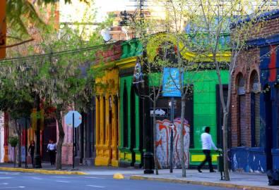 Barrio Bellavista in Santiago de Chile