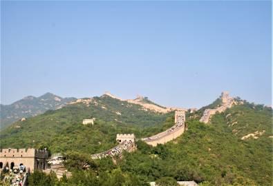 China, Peking - Grosse Mauer