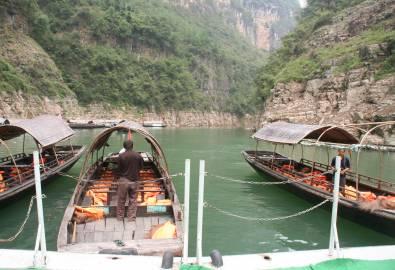 China Yangtze kleine Schluchten