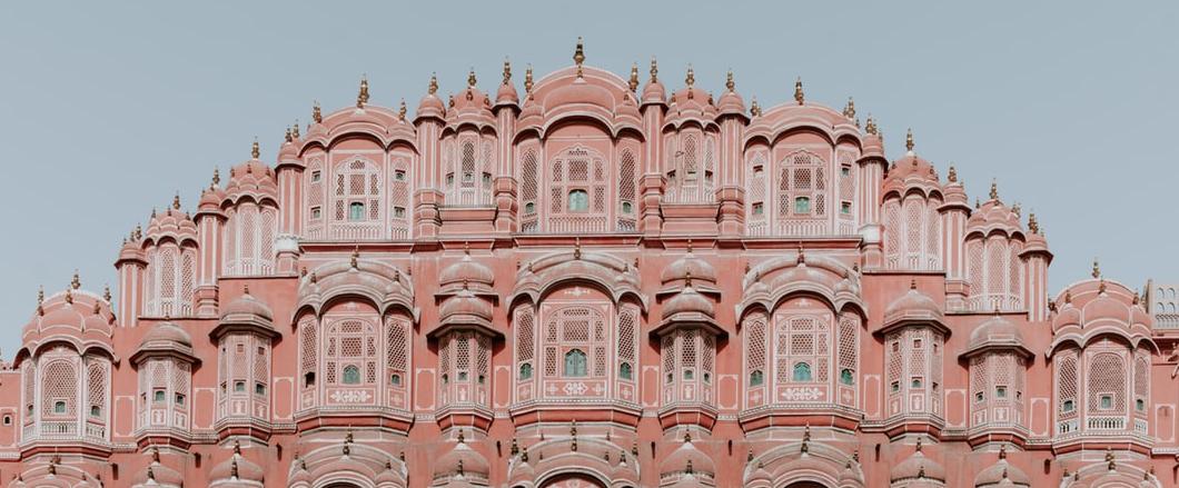 Indien - Hawa Mahal Jaipur