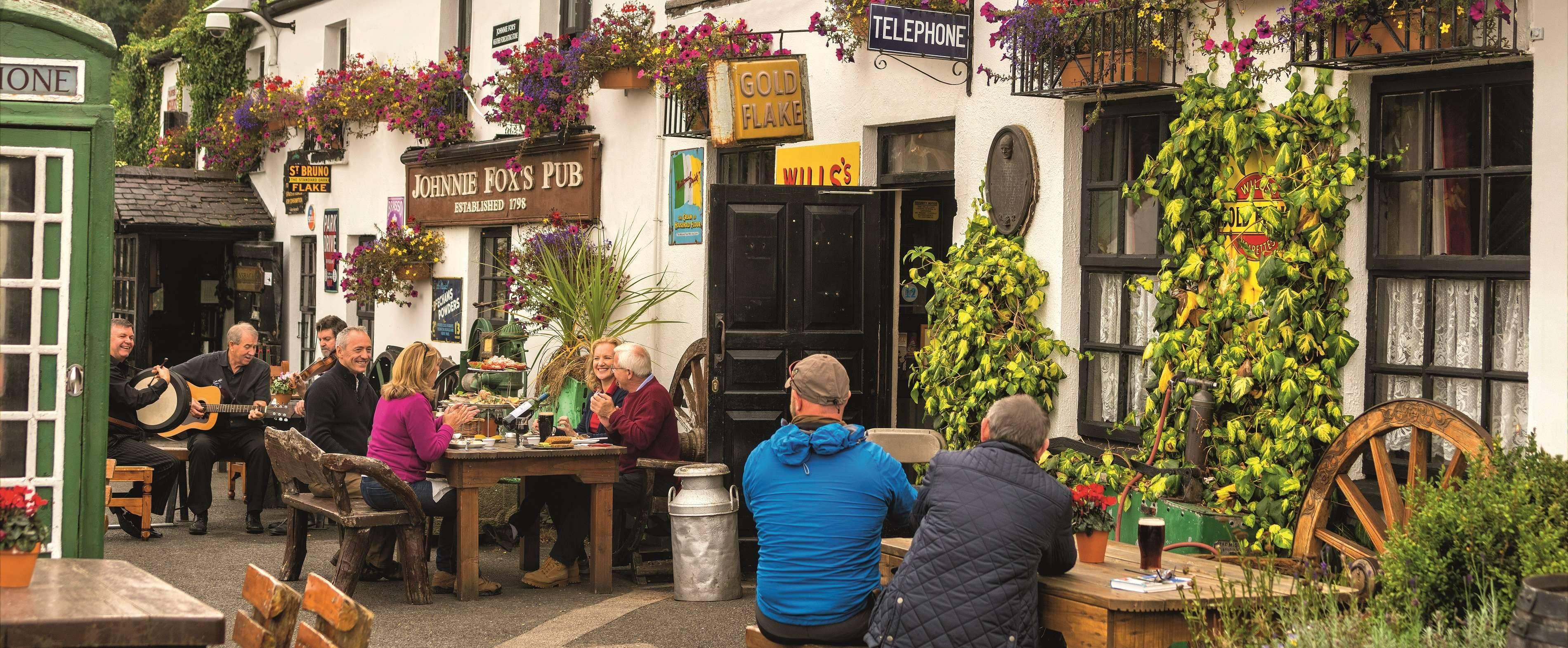 Irland - Dublin - Johnnie Foxs Pub