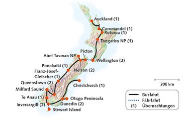 Faszination Neuseeland, 2019-20