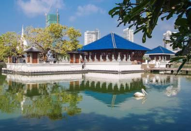 Sri Lanka Gangarama Temple