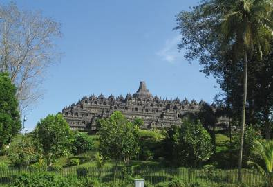 Indonesien Java Yogyakarta Borobodur