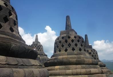 Indonesien Yogjakarta Borobodur