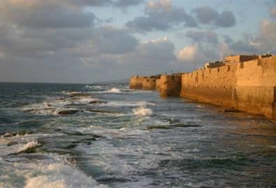 Israel Akko Altstadtmauer