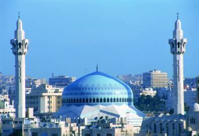Jordanien Amman Moschee König-Abdullah