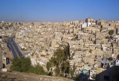 Jordanien Amman Stadtansicht