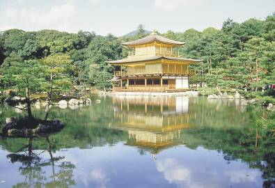 Japan - Kinkakuji Tempel Kyoto