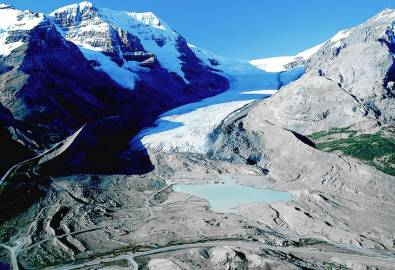 Kanada Columbia Icefield