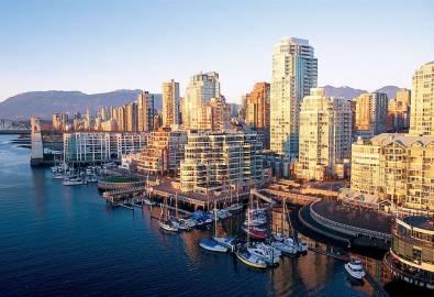 Kanada-Vancouver-Skyline