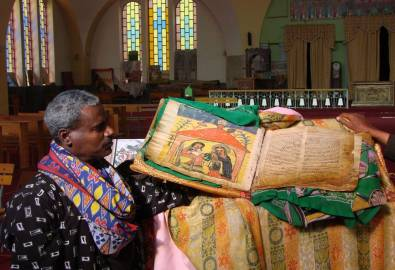 Äthiopien - Kirche Axum
