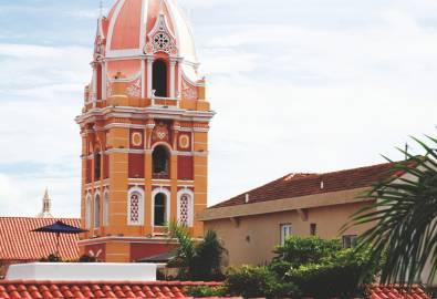 Cartagena - Kirchturm