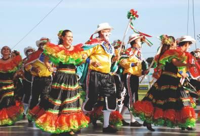 Kolumbien - Tänzer