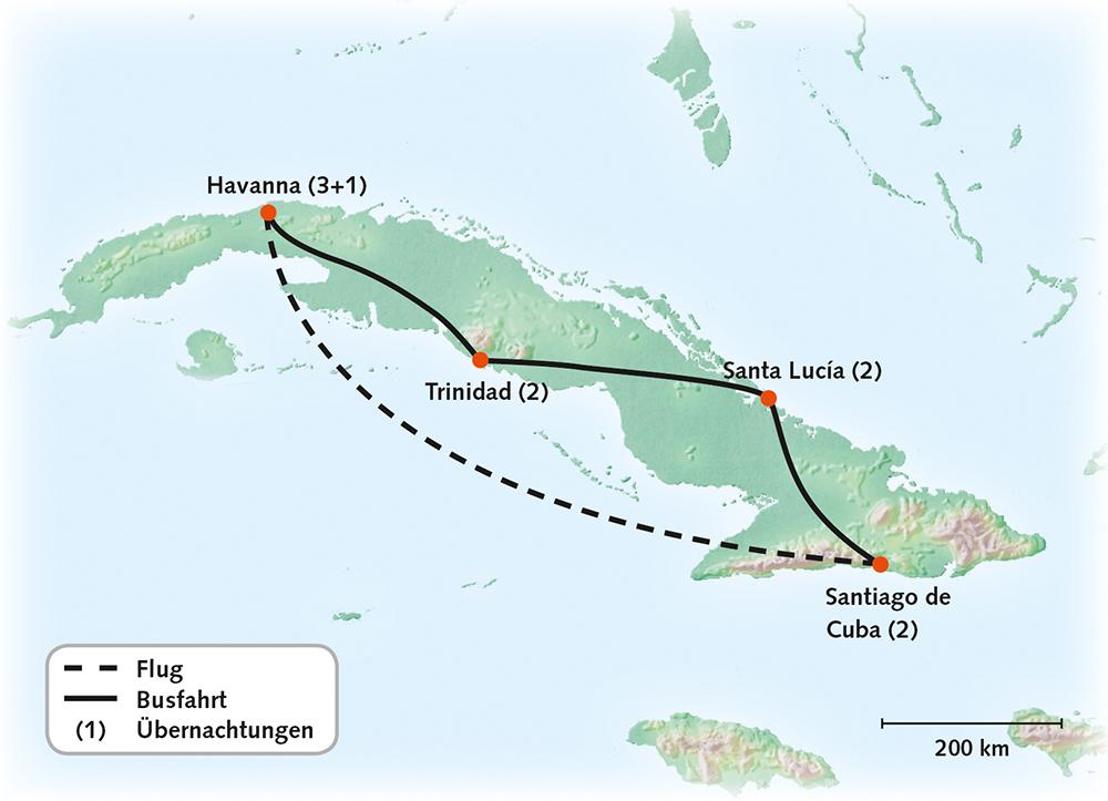 Kuba Portrait einer Insel