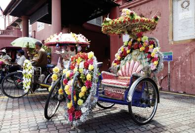 Malaysia - Bicycle in Malacca