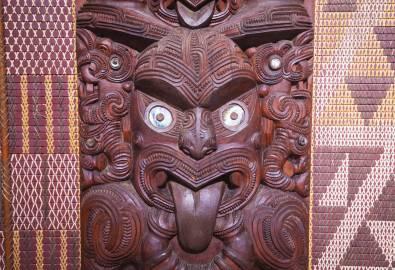 Maori Wood Art