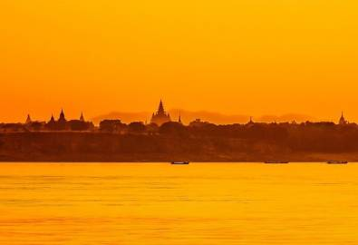 Myanmar, Pagoden Bagan