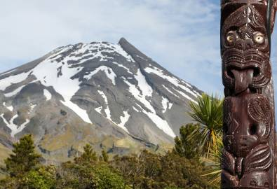 NZ_MtCook_und_Maori_wood_art_shutterstock_413094268_05JUN2018