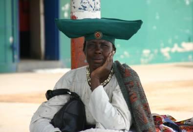 Namibia-Okahandja-Herero-Frau