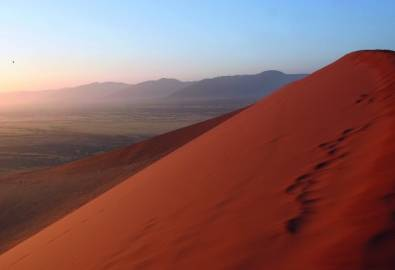 Namibia Dünenwanderung